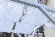 Selbstgenähte Sonnensegel mit Schwung. JanaKnöpfchen - Nähblog
