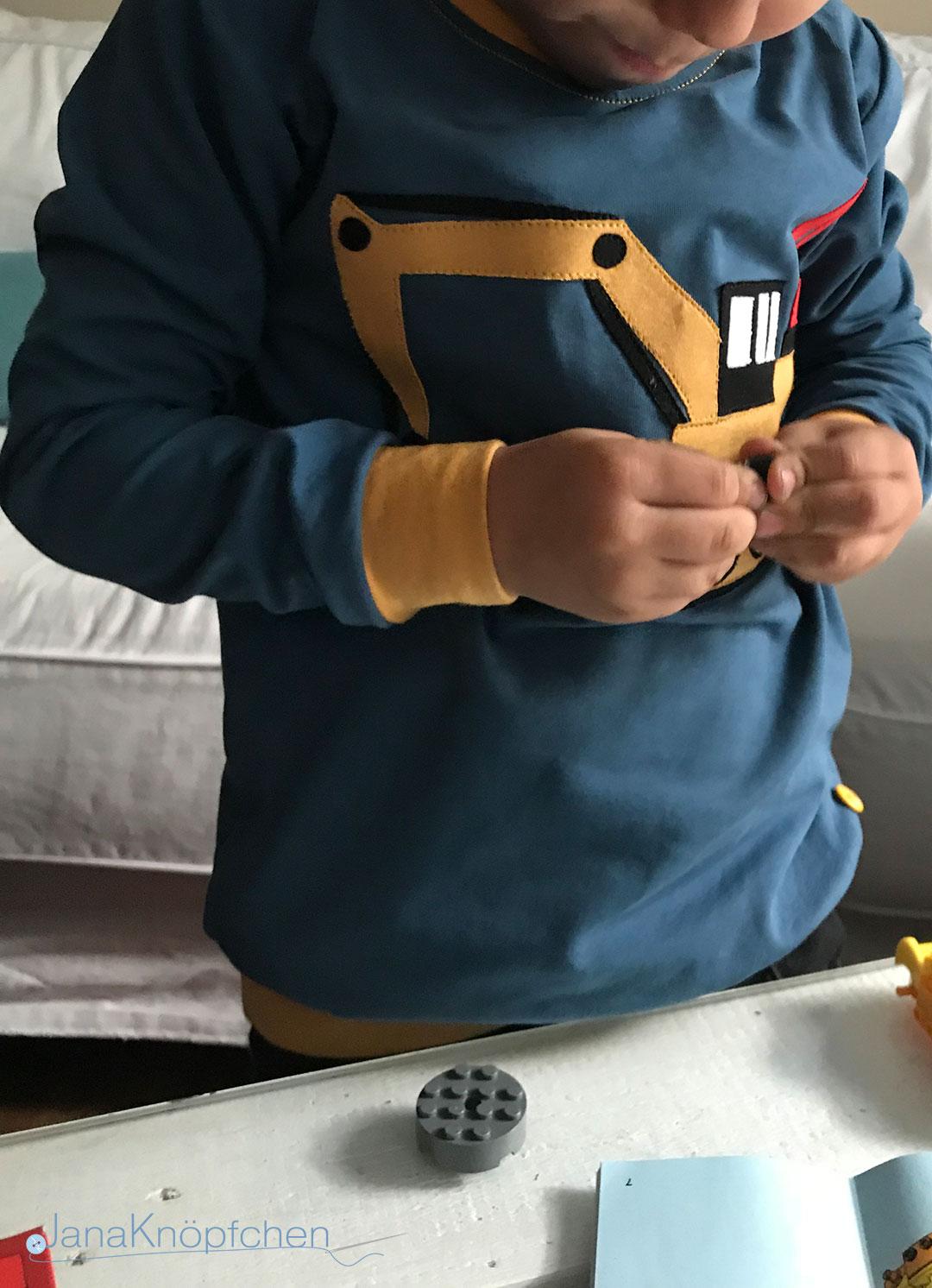 geburtstagsshirt bagger tragen janaknoepfchen