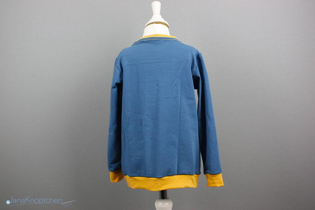 Shirt für Jungs nähen mit Bündchen. JanaKnöpfchen - Nähen für Jungs