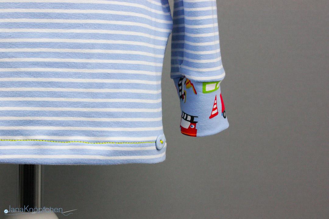 Geburtstagsshirt nähen für Jungs. JanaKnöpfchen - Nähen für Jungs