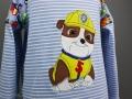 selbstgenähtes Geburtstagsshirt für Jungs mit Paw Patrol Applikation. JanaKnöpfchen - Nähen für Jungs