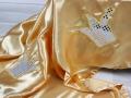 Geburtstagstischdecke mit silbernen Kronen für die Kita nähen. JanaKnöpfchen - Nähen für Jungs