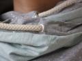 Kordel an Wickelkapuze genäht für Frauen. JanaKnöpfchen - Nähen für Jungs