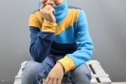 Freestyle Hoodie Mika nähen für Jungs. JanaKnöpfchen - Nähen für Jungs