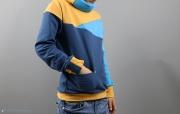 Selbstgenähter Freestyle Hoodie mit seitlicher Tasche. JanaKnöpfchen - Nähen für Jungs