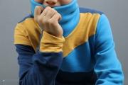 Freestyle Hoodie mit Kragen nähen. JanaKnöpfchen - Nähen für Jungs