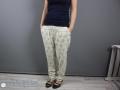 Hosen nähen für frauen - sommerliche Hose selbstgenäht.JanaKnöpfchen - Nähen für jungs. Nähblog 12 colors of handmade fashion
