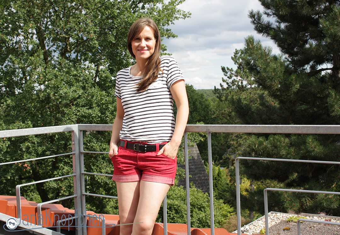 kurze Jeans nähen - Jahresrückblick auf die Nähprojekt des Nähblogs JanaKnöpfchen - Nähen für Jungs