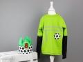 Geburtstagsshirt Fussball nähen - Jahresrückblick auf die Nähprojekt des Nähblogs JanaKnöpfchen - Nähen für Jungs