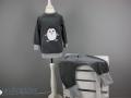 Schlafanzug mit Pinguinapplikation nähen. Jahresrückblick auf die Nähprojekt des Nähblogs JanaKnöpfchen - Nähen für Jungs