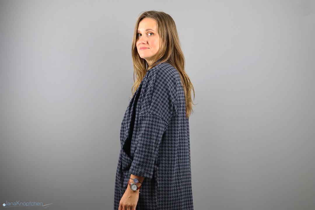 Cardigan für Frauen nähen. Jahresrückblick 2019 - JanaKnöpfchen. Nähen für Jungs