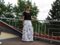 Für Frauen einen langen Kellerfaltenrock selbstgenäht. JanaKnöpfchen - nähen für jungs. Nähblog
