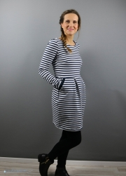 Kleid Chloe als Winterkleid genäht. JanaKnöpfchen - Nähen für Jungs