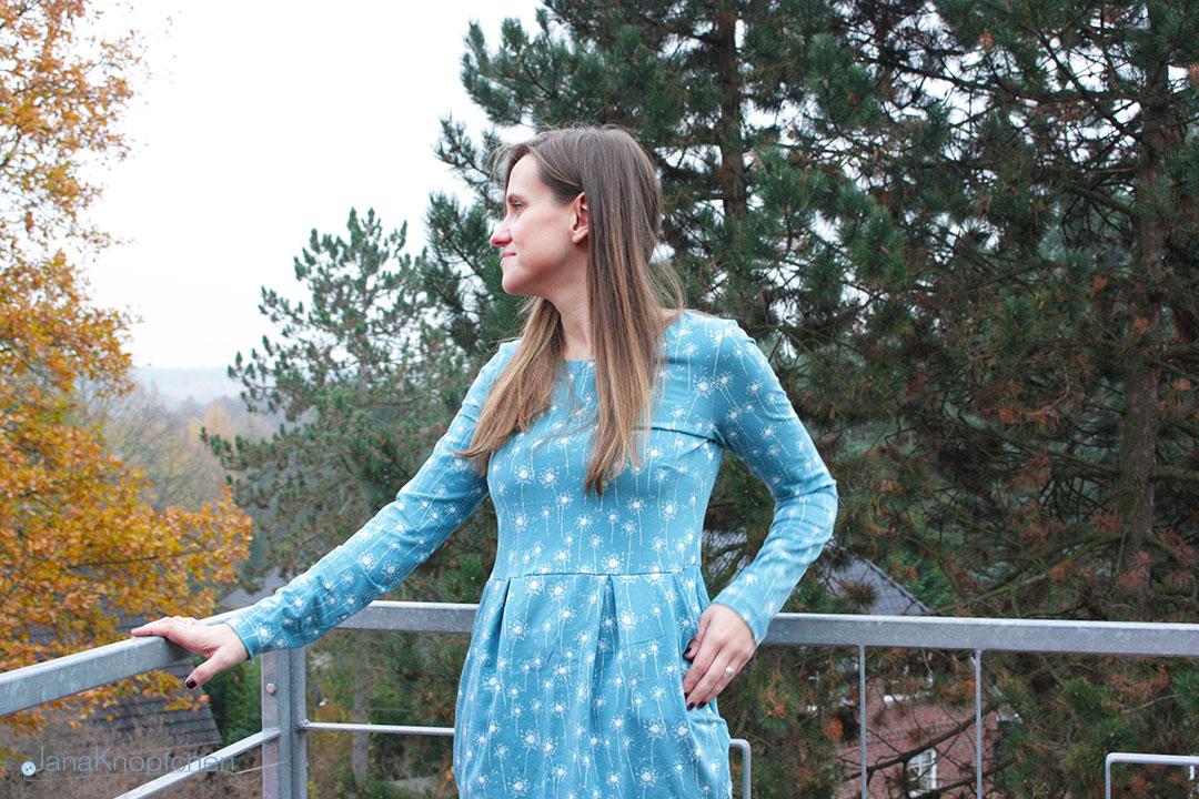 Kleid Chloe aus Jersey nähen. JanaKnöpfchen - Nähen für Jungs