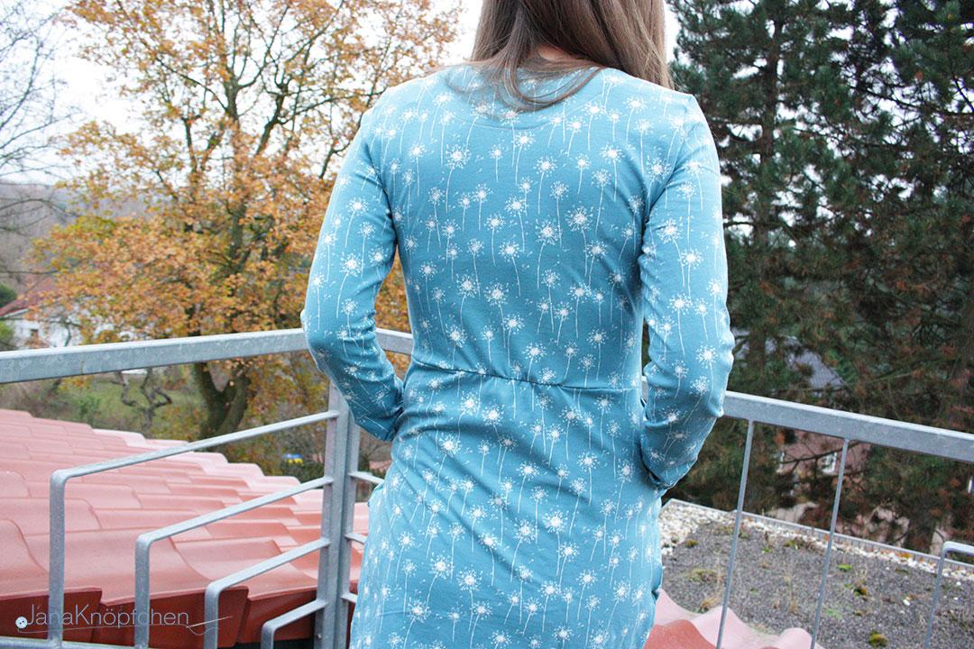 Kleid mit Tulpenrock - Kleid Chloe aus Jersey nähen. JanaKnöpfchen - Nähen für Jungs