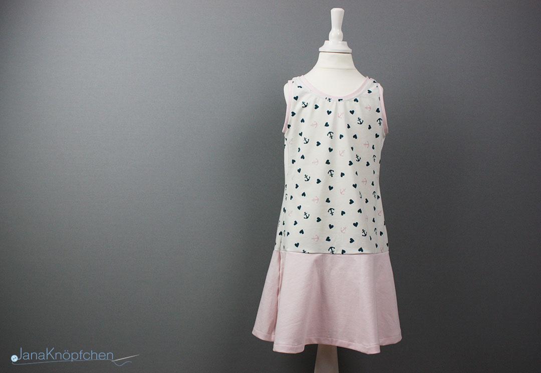 Trägerkleid für Mädchen nähen und wie wasche ich selbstgenähte Kleidung. JanaKnöpfchen - Nähen für Jungs