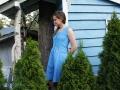 Kleid Tuva mit Knopfleiste genäht. JanaKnöpfchen - Nähen für Jungs