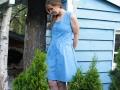 Probenähen für Kreativlabor Berlin Kleid Tuva mit Knopfleiste. JanaKnöpfchen - Nähen für Jungs