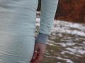 Armbündchen des Kleides Wilma von LimeNox. JanaKnöpfchen - Nähblog