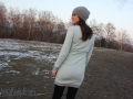 Kleid Wilma mit Falten am Rückenteil nähen. LimeNoxe. JanaKnöpfchen - Nähblog