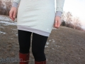 Saum des Kleides Wilma von LimeNox. JanaKnöpfchen - Nähblog