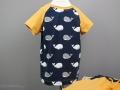 Kurzer selbstgenähter Schlafanzug für Jungs. JanaKnöpfchen - Nähen für Jungs