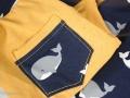 Schlafanzughose mit Tasche für den Sommer. JanaKnöpfchen - Nähen für Jungs