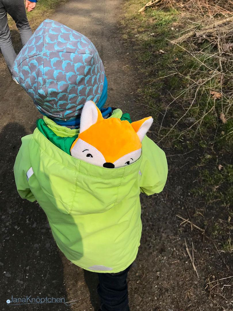 Zu Ostern ein selbstgenähter Kuscheltier Fuchs. JanaKnöpfchen - Nähen für Jungs