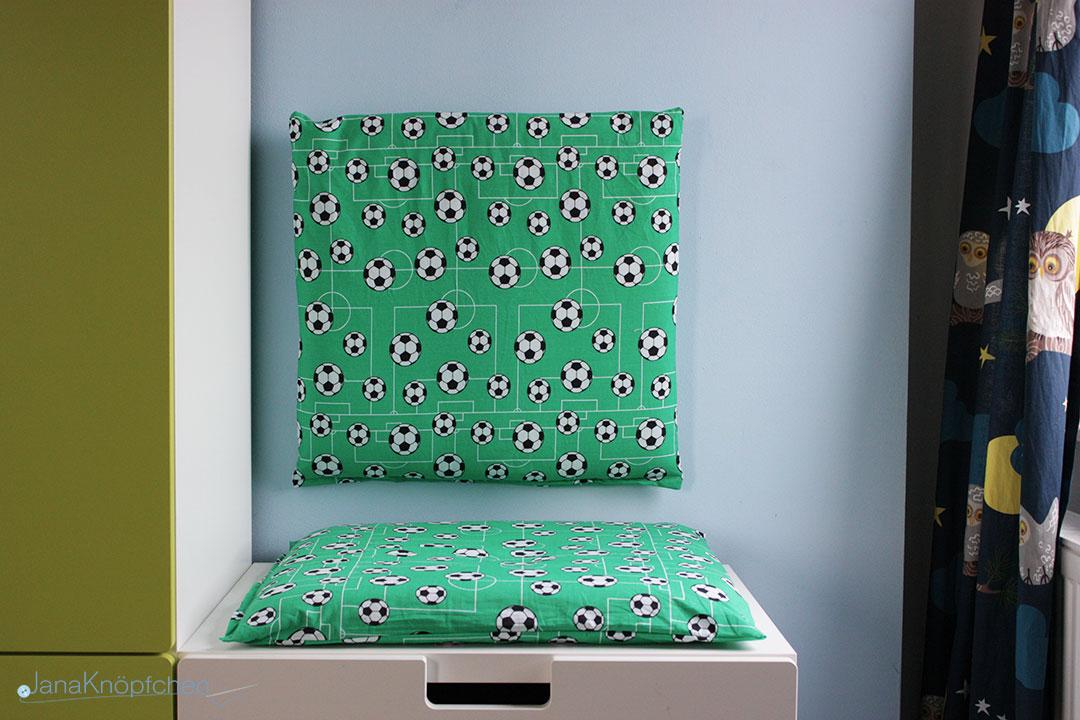 DIY Leseecke für Jungs im Kinderzimmer Selbermachen. JanaKnöpfchen - Nähen für Jungs