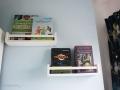 Bücherregale selbstgemachte Leseecke im Kinderzimmer. JanaKnöpfchen - Nähen für Jungs