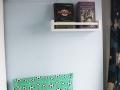 Selbstgemachte Leseecke mit Kissen und Bücherregalen im Kinderzimmer. JanaKnöpfchen - Nähen für Jungs
