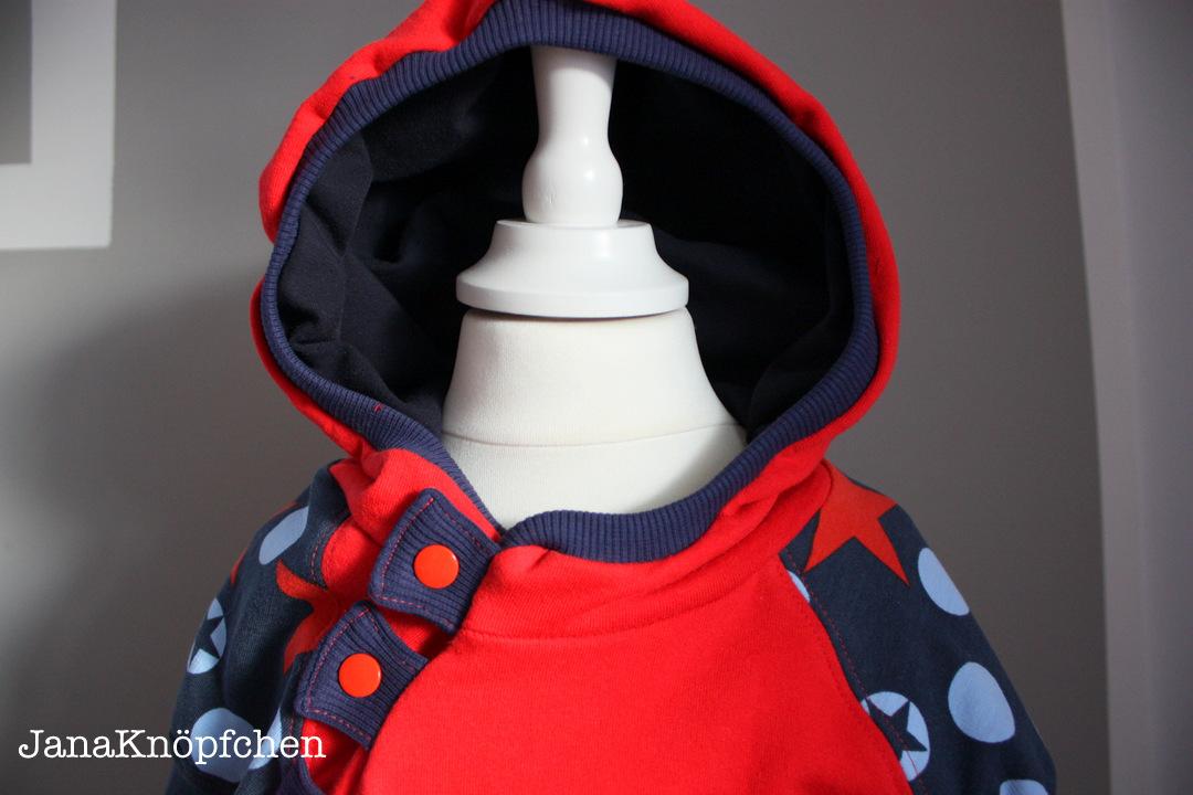 obere vorderseite hoodie letz knöpf-janaknöpfchen.nähen für jungs