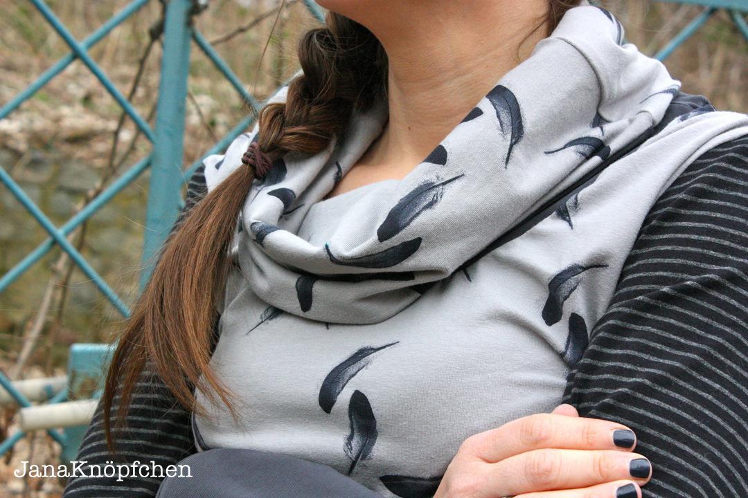 shirt fuer frauen detail kragen. janaknoepfchen naehblog. nähen für jungs