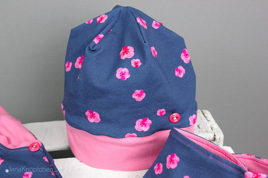 Mütze nähen für kleine Mädchen. JanaKnöpfchen - Nähen für Jungs
