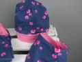 Mütze und tuch nähen für kleine Mädchen. JanaKnöpfchen - Nähen für Jungs