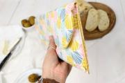 Tasche für Küchenmesser für den Urlaub nähen. JanaKnöpfchen - Nähen für Jungs