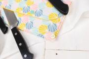 Messertasche nähen, um Küchenmesser mit in das Ferienhaus zu nehmen. JanaKnöpfchen - Nähen für Jungs