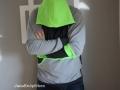 Hoodie Miro für Männer. Kapuze vorne - janaknöpfchen nähen für jungs