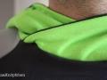 detail hoodie für Männer Kragen. janaknöpfchen nähen für jungs