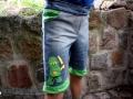 motti shorts mit cole ninjago applikation.janaknoepfchen. nähen für jungs