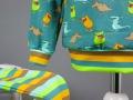 Bund am Schlafanzug für Jungs. Eigenproduktion von Stoff und Liebe. JanaKnöpfchen - Nähen für Jungs