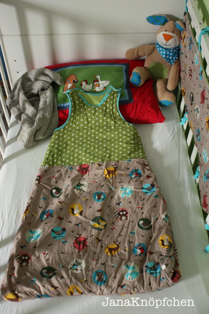 schlafsack junge.janaknöpfchen nähen für jungs