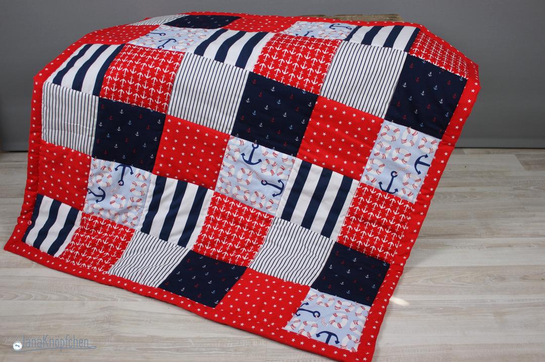 als babygeschenk eine patchworkdecke n hen geschenk zur. Black Bedroom Furniture Sets. Home Design Ideas
