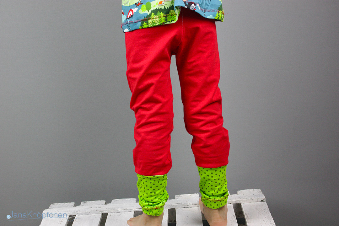 Gemütliche Schlafanzughose nähen.  JanaKnöpfchen - Nähen für Jungs