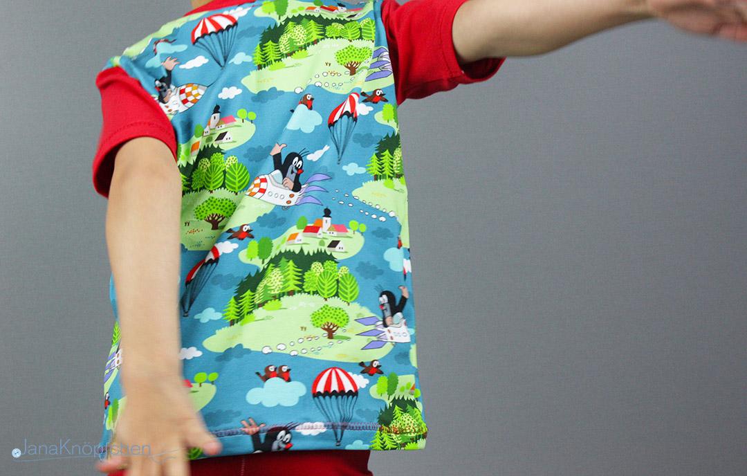 Schlafanzug für den Winter selbstgenäht.  JanaKnöpfchen - Nähen für Jungs