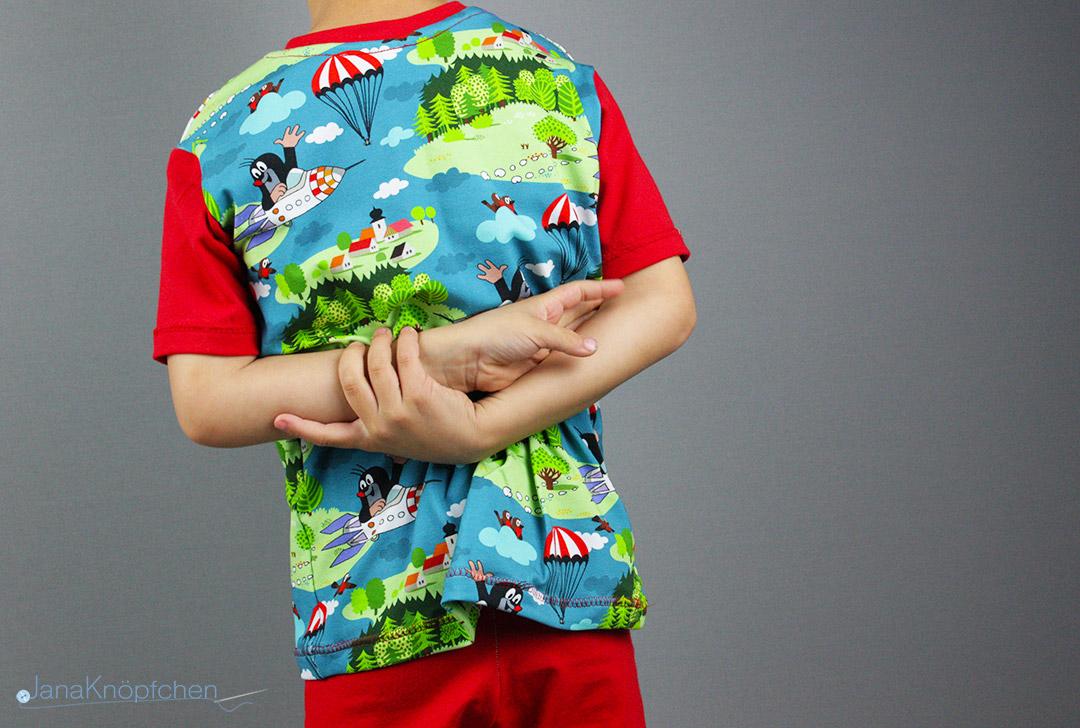 Paulistoff und selbstgenähter Schlafanzug.  JanaKnöpfchen - Nähen für Jungs