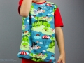 Oberteil für den selbstgenähten Pauli-Schlafanzug für Jungs.  JanaKnöpfchen - Nähen für Jungs