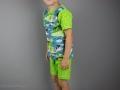 Sommerschlafanzug selbstgenäht für Jungs. JanaKnöpfchen - Nähen für Jungs