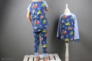 Paw Patrol Schlafanzug nähen für kleine Jungs. JanaKnöpfchen - Nähen für Jungs