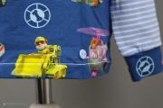 Label von JanaKnöpfchen am selbstgenähten Shirt mit Paw Patrol Print. JanaKnöpfchen - Nähen für Jungs